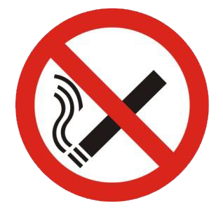 No smoking allowed